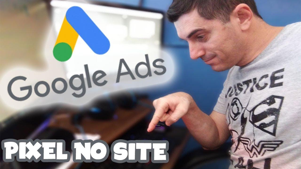 Como Instalar o Pixel do Google ads no blog wordpress passo a passo