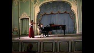 С. Франк Соната для скрипки и фортепиано I ч.