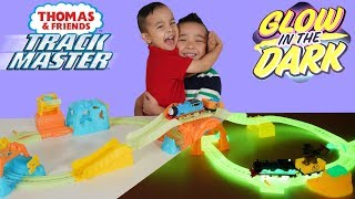 Thomas & Friends  GLOWING MINE SET Unboxing Fun With CKN Toys