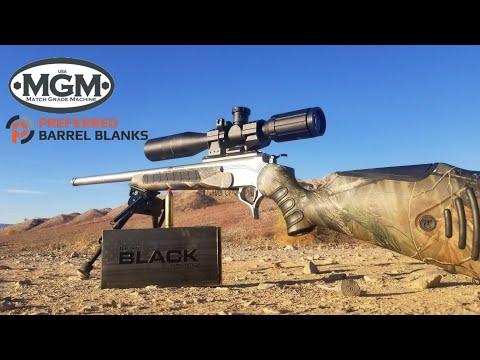 TC Encore 450 Bushmaster - MGM Custom Barrels Review - Hornady 250gr FTX Black Ammo