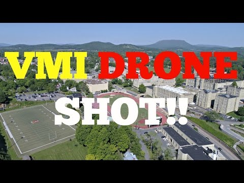 VIRGINIA MILITARY INSTITUTE | DRONE SHOT!!