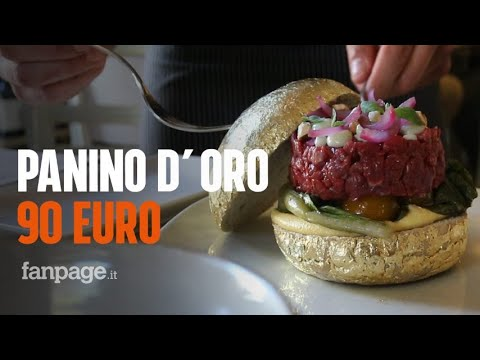 Catania, ecco l'hamburger più caro d'Italia: costa 90 euro ed è ricoperto d'oro