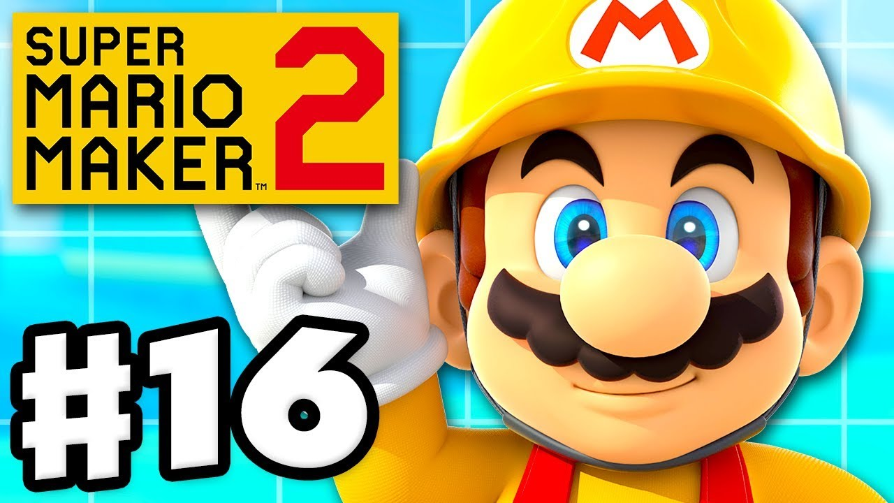Story Mode Level 90 Complete! - Super Mario Maker 2 - Gameplay Walkthrough  Part 16 (Nintendo Switch)
