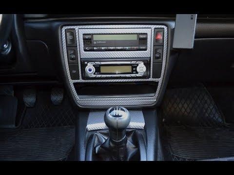 Установка 2 DIN магнитолы в авто Volkswagen Passat B5 FL