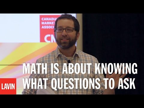 Jordan Ellenberg: Math Is About Knowing What Questions to Ask