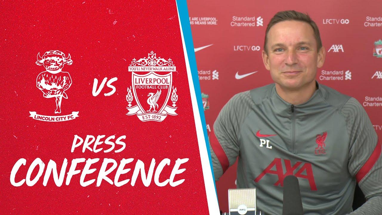 Liverpool's pre-match press conference | Lincoln City vs Liverpool