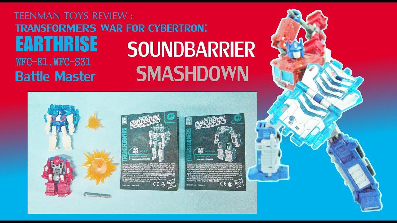 Transformers Earthrise SOUNDBARRIER War for Cybertron  Battlemaster WFC-E1