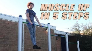 MUSCLE UP IN 5 MINUTES!! - BEST ABNORMAL TUTORIAL