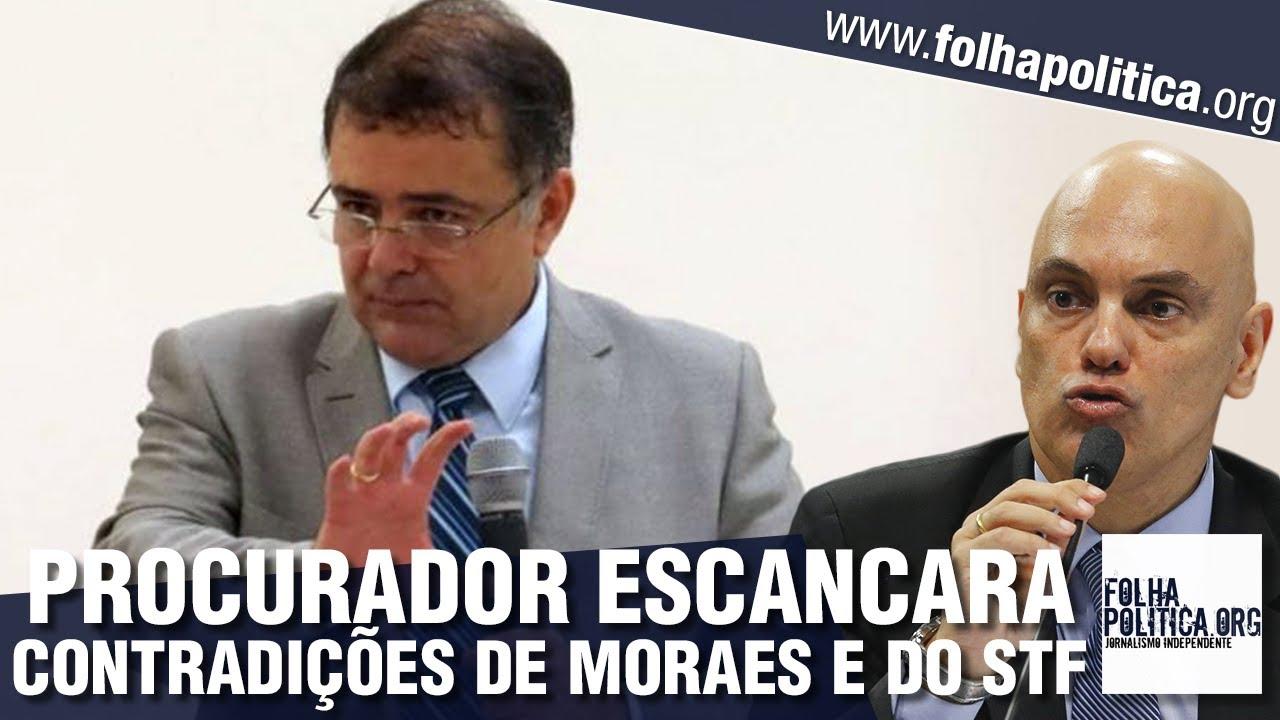 Procurador escancara contradições do STF ao reagir a arbitrariedades de Alexandre de Moraes