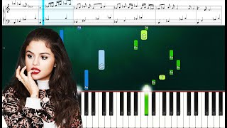 Selena Gomez - A Sweeter Place ft. Kid Cudi (Piano Sheets) Advanced