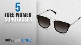 Top 10 Idee Women Sunglasses [2018]: IDEE Polarized Square Unisex Sunglasses -