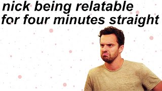 New Girl Nick Miller Tv Show Funny Memes Relatable Mood