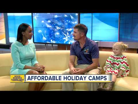 Tampa offers free and affordable holiday camps for kids during school break
