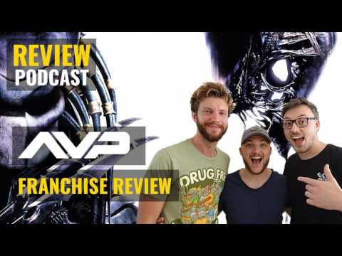 'Alien vs Predator' Movie Franchise Review Discussion // Movie Podcast