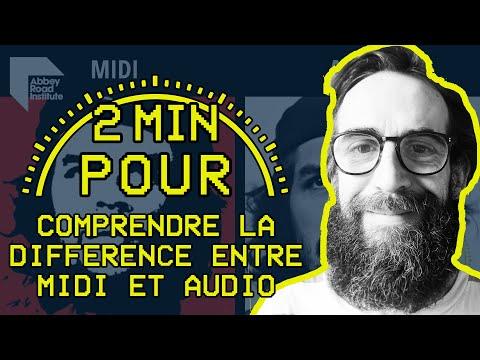 2 MIN POUR... comprendre la différence entre MIDI et audio !