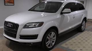 This 2013 Audi Q7 3.0T quattro is a competent and beautifully styled SUV that