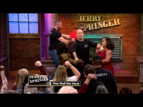 Everyone's Throwin' Down! (The Jerry Springer Show)