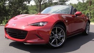 2016 Mazda MX-5 Miata - Start Up, Road Test & In Depth Review