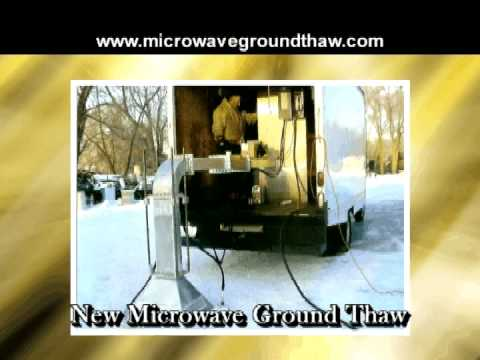 Microwave Ground Thaw Youtube