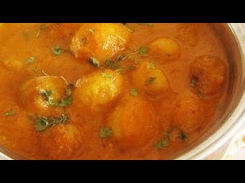 KASHMIRI DUM ALOO Recipe EASY WAY/ Indian recipeYouTube