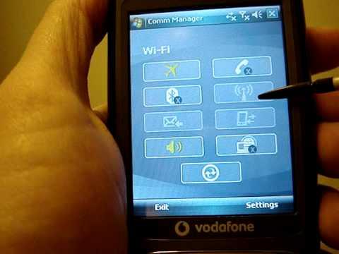 HTC Kaiser TyTN II P4550 - Vodafone V1615