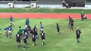 Match Highlight Thailand Rugby Union 2014 U15 Final