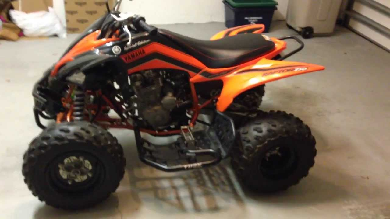 2008 yamaha raptor 250r special edition for sale youtube. Black Bedroom Furniture Sets. Home Design Ideas