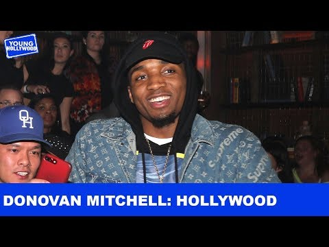 Donovan Mitchell In the Hollywood Limelight
