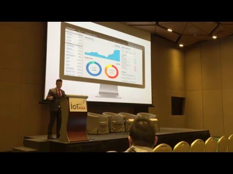 Scott Amyx Speaking at IoT Asia in Singapore on Human Data Analytics