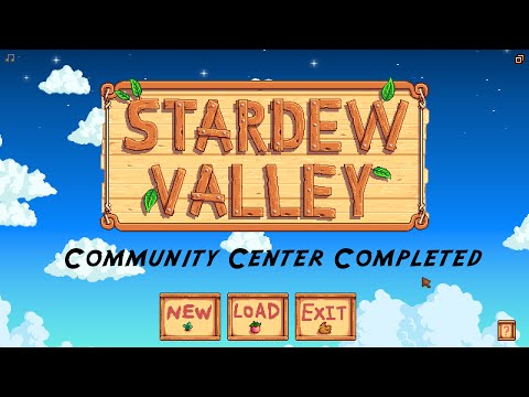 Stardew Valley: Community Center Complete