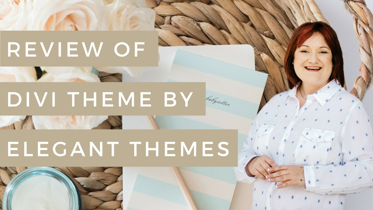 Review of divi theme by elegant themes youtube for Elegant themes divi review