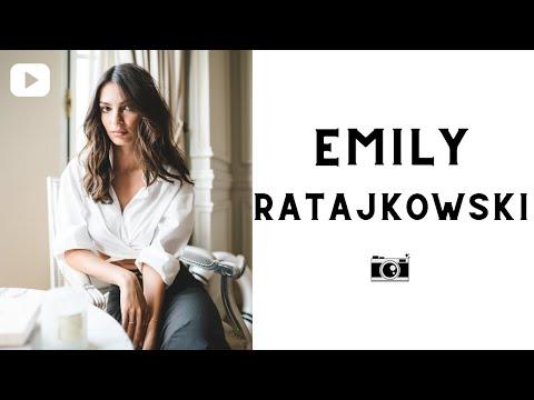 Emily Ratajkowski Photoshoot in Paris