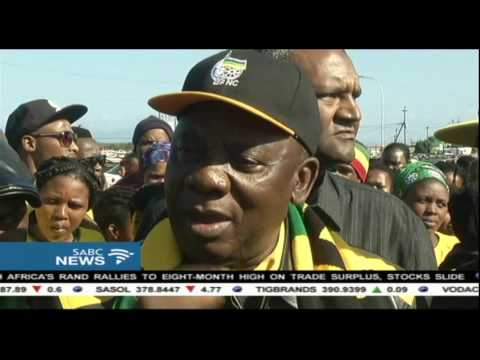 Ramaphosa has led an election campaign in the Western Cape