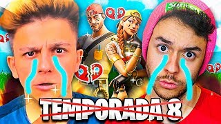 NUESTRA ÚLTIMA PARTIDA DE LA TEMPORADA 8 - Fortnite