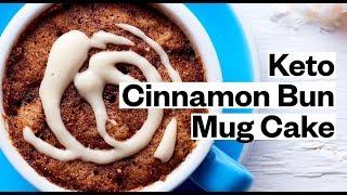 KETO Mug Cake Recipe (Cinnamon Bun Mug Cake) | Thrive Market
