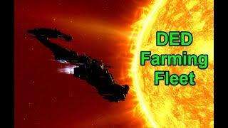 DED Farming Fleet - Getting Dank Skins - !giveaway - EVE Online
