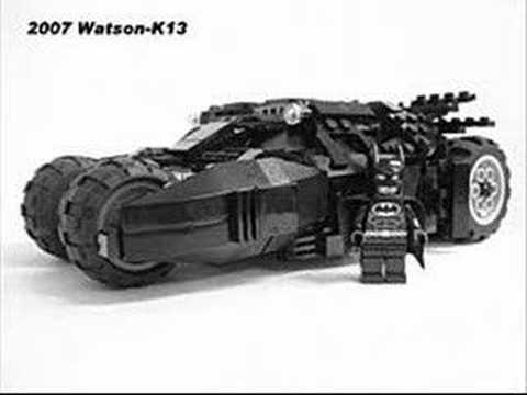lego batman begins batmobile youtube. Black Bedroom Furniture Sets. Home Design Ideas