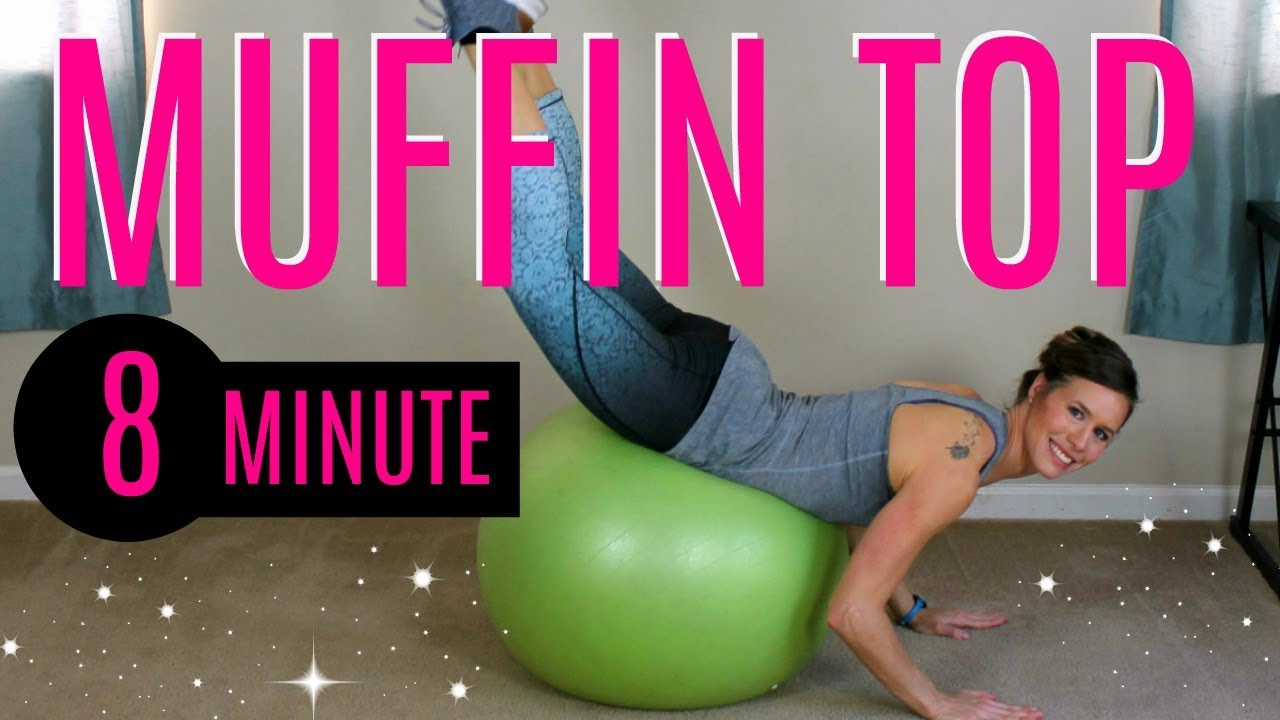 how to lose muffin top fast