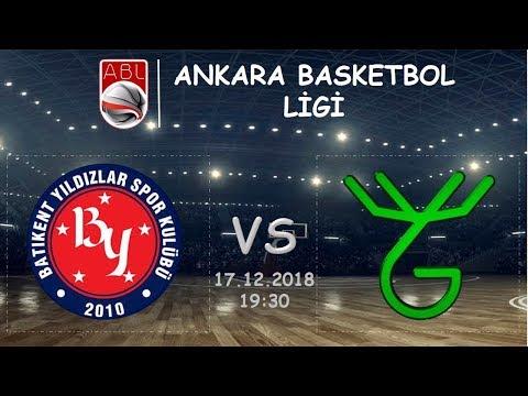 ABL l  Batıkent Yıldızlar Spor Kulübü 87-66 Greens Basketbol (17.12.2018, 19:30)