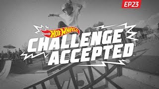 5 0 the rail hot wheels challenge accepted