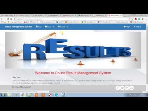 student result management system The success of any organization such as school of public health, university student database management system result a web based student database system.