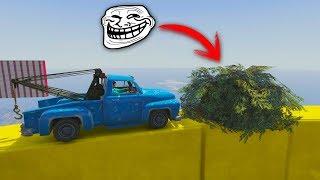 QUÉ HAY DENTRO DEL ARBUSTO?! - CARRERA GTA V ONLINE - GTA 5 ONLINE