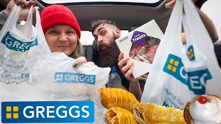 THE GREGGS GRUB-UP | ALMOST 10,000 CALORIE CHALLENGE | B.S.B.O. Ep.6