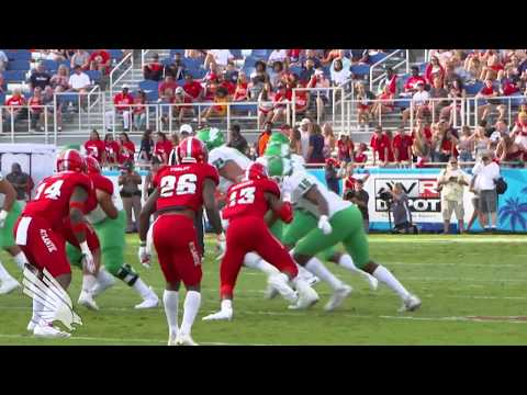 North Texas Football: North Texas vs FAU - NT Highlights 10/21/17