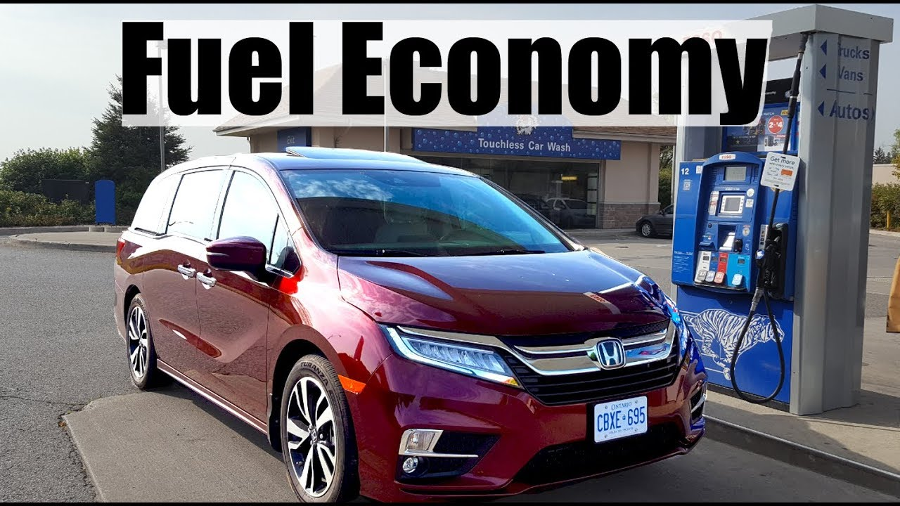 2018 Honda Odyssey   Fuel Economy MPG Review + Fill Up Costs