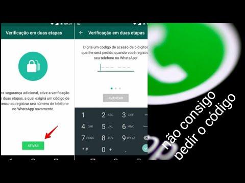 Como receber o código de verificação do whatsapp   Como acelera o processo whatsapp 2019