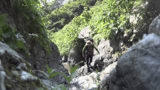 服部文祥と行くサバイバル登山の記録.