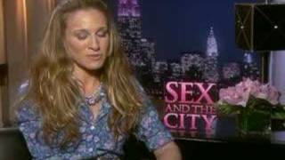 Sarah Jessica Parker interview for Sex and the City movie