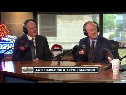 Jack Harbaugh & Archie Manning on The Dan Patrick Show 6/14/13