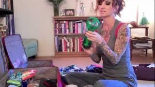 cherry dollface packs her underwear for warped tour